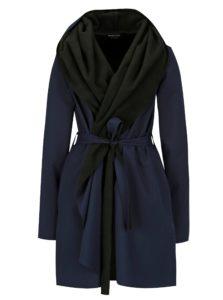 Čierno-modrý vodovzdorný kabát Design by Lucie Jack Dark Blue