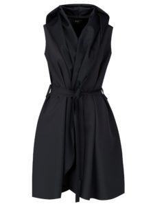 Tmavosivé šaty so zavinovacím efektom Design by Lucie Jack