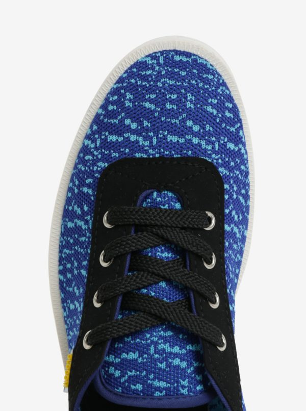 Modré pánske melírované tenisky Oldcom Move