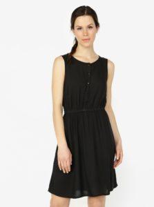 Čierne šaty bez rukávov VERO MODA Boca