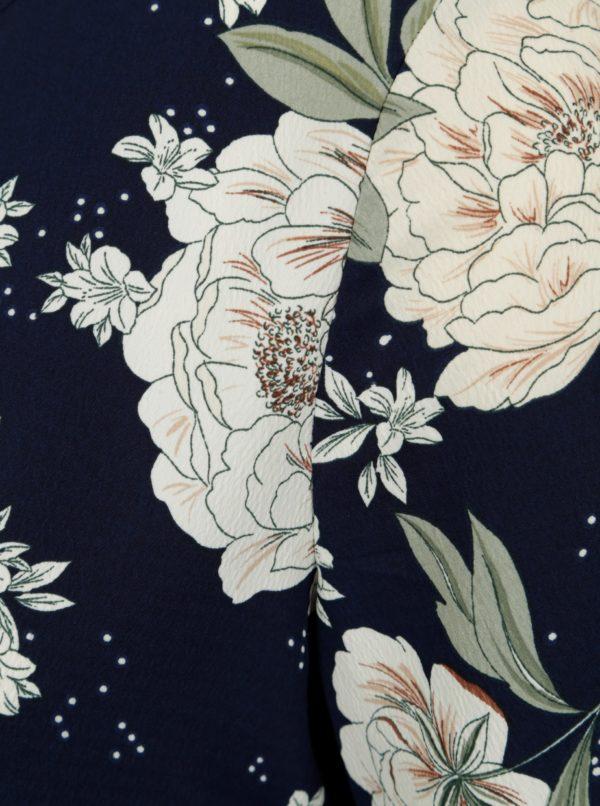 Modro-biele kvetované tehotenské šaty Dorothy Perkins Maternity