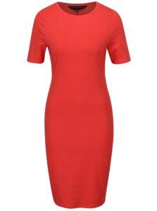 Červené puzdrové šaty Dorothy Perkins