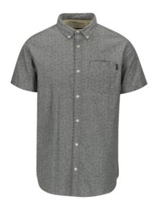 Sivá vzorovaná košeľa Jack & Jones Premium Murtough
