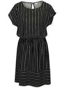 Bielo-čierne pruhované šaty Jacqueline de Yong Cilja