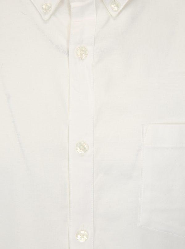 Krémová skinny fit košeľa Burton Menswear London