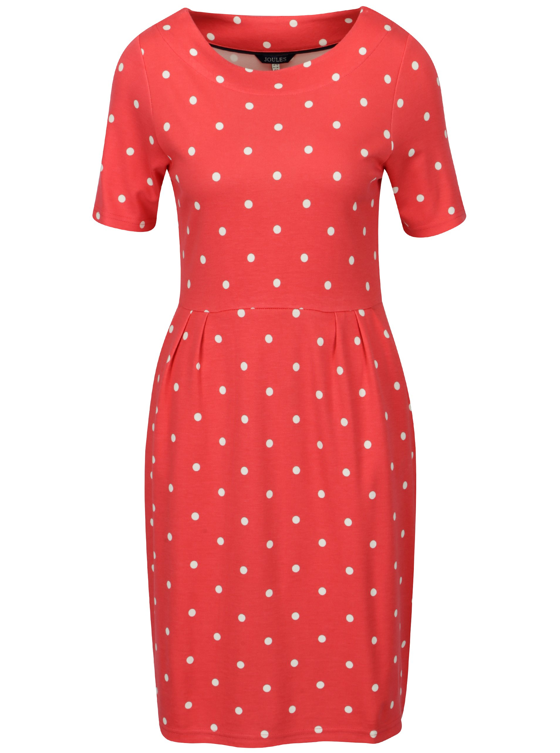 dae8c8492a85 Červené bodkované šaty Tom Joule Beth