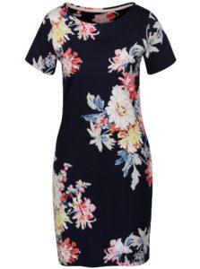 Tmavomodré kvetované šaty Tom Joule Riviera Print