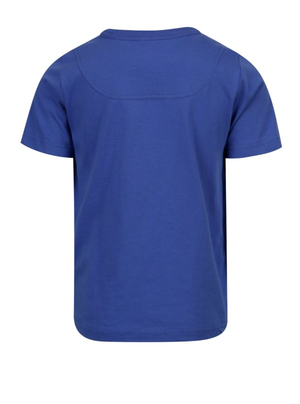 Modré chlapčenské tričko s potlačou Tom Joule Ben
