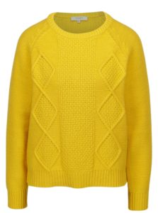 Žltý sveter Selected Femme Kasia