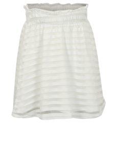 Krémová pruhovaná sukňa name it Fikaja