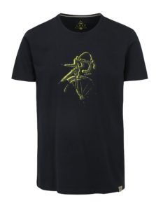 Tmavomodré pánske tričko LOAP Baston