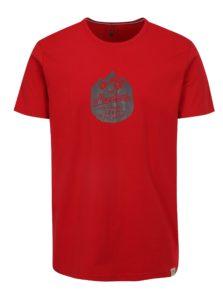Červené pánske tričko LOAP Bessip
