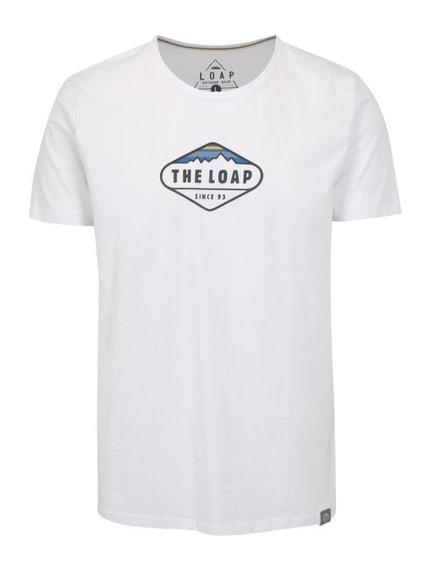 Biele pánske tričko LOAP Bandos