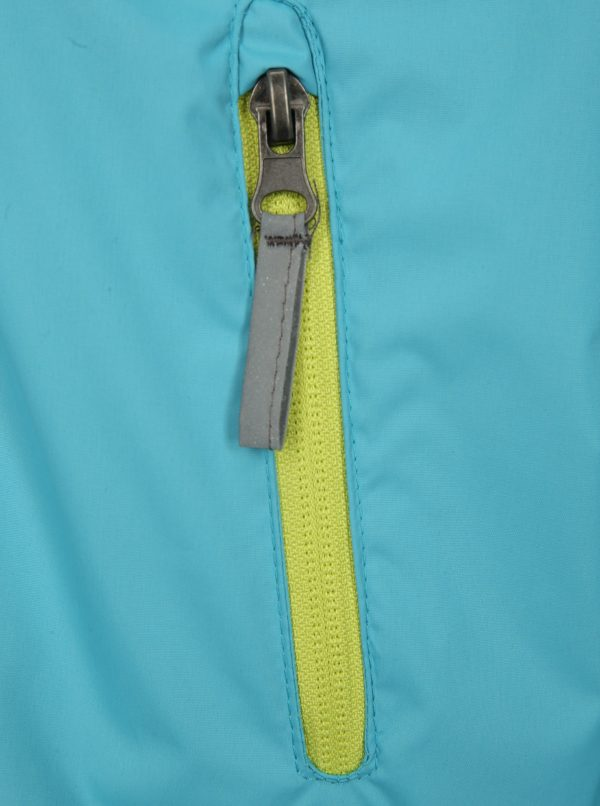 Svetlomodrá detská vodovzdorná bunda LOAP Veren