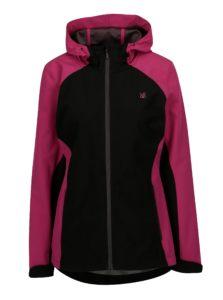 Čierno-ružová dámska softshellová bunda LOAP Libbi