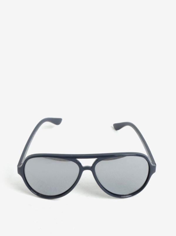 Tmavomodré detské slnečné okuliare name it Sun
