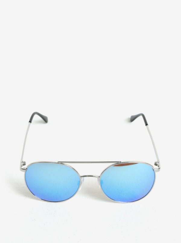 Detské slnečné okuliare v striebornej farbe name it Sun