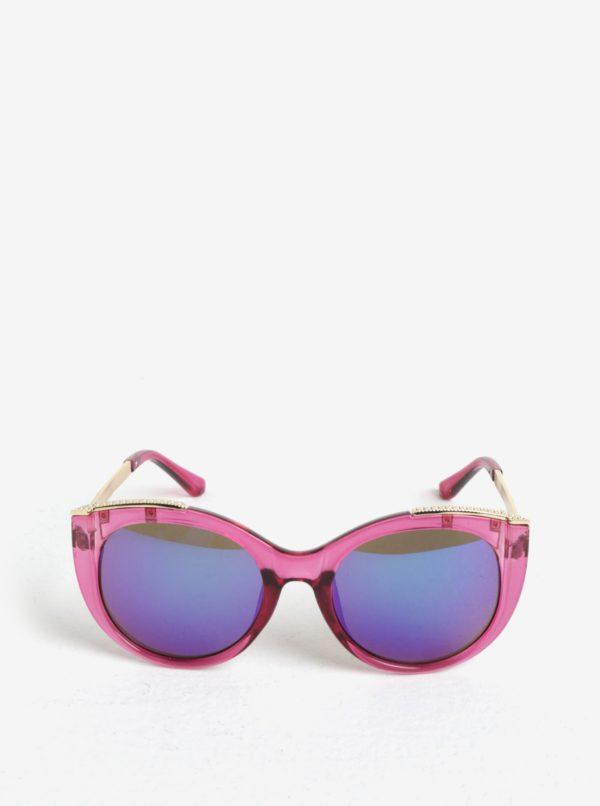 Ružové dievčenské slnečné okuliare name it Sun