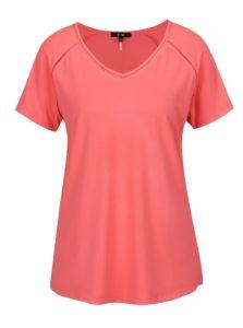 Ružové tričko s krátkym rukávom Yest