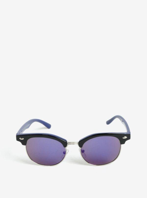 Modro-čierne detské slnečné okuliare name it Sun