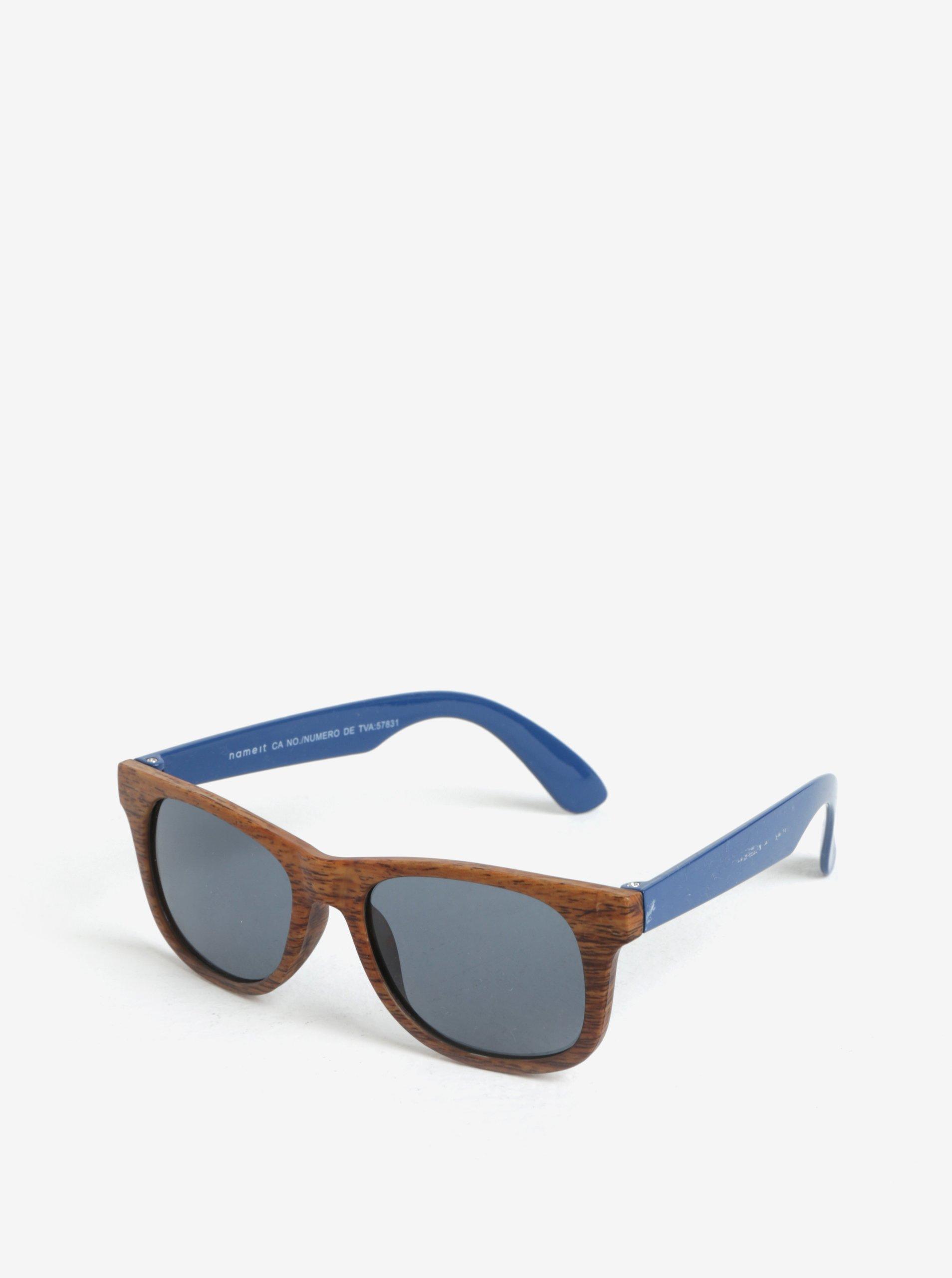 Modro-hnedé dievčenské slnečné okuliare name it Sun  88360bbc96a
