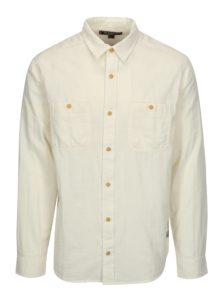 Krémová pánska košeľa BUSHMAN Seadrift