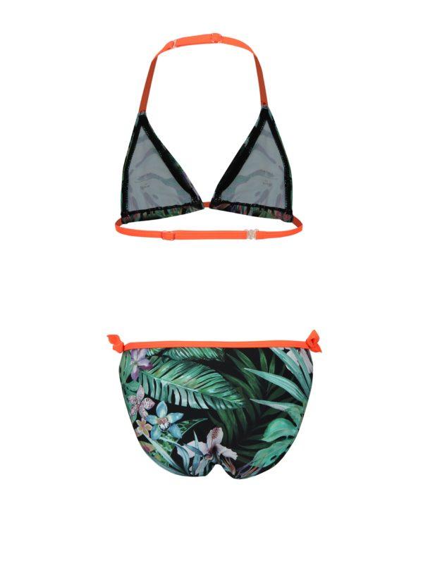 9a304bbcf8 Zelené vzorované dievčenské dvojdielne plavky name it Zandie