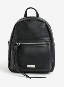 Čierny koženkový batoh ZOOT