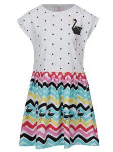 Zeleno-biele vzorované dievčenské šaty tuc tuc Combined Jersey
