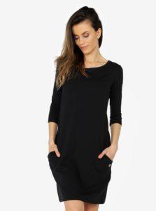 Čierne šaty s vreckami ZOOT