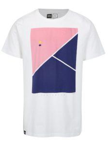 Biele tričko s potlačou Dedicated Tennis Court