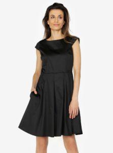 Čierne šaty s áčkovou sukňou ZOOT