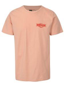 Ružové tričko s potlačou Dedicated Good Hands
