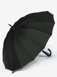 Čierny pánsky dáždnik Derby