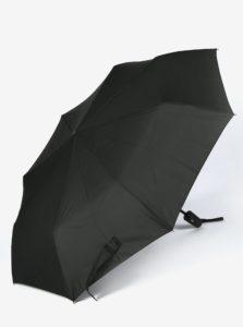 Čierny skladací vystreľovací dáždnik Derby