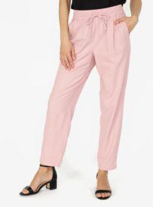 Ružové nohavice s vreckami VERO MODA Masta Milo