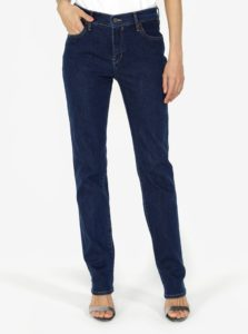 Tmavomodré dámske straight rifle Calvin Klein Jeans