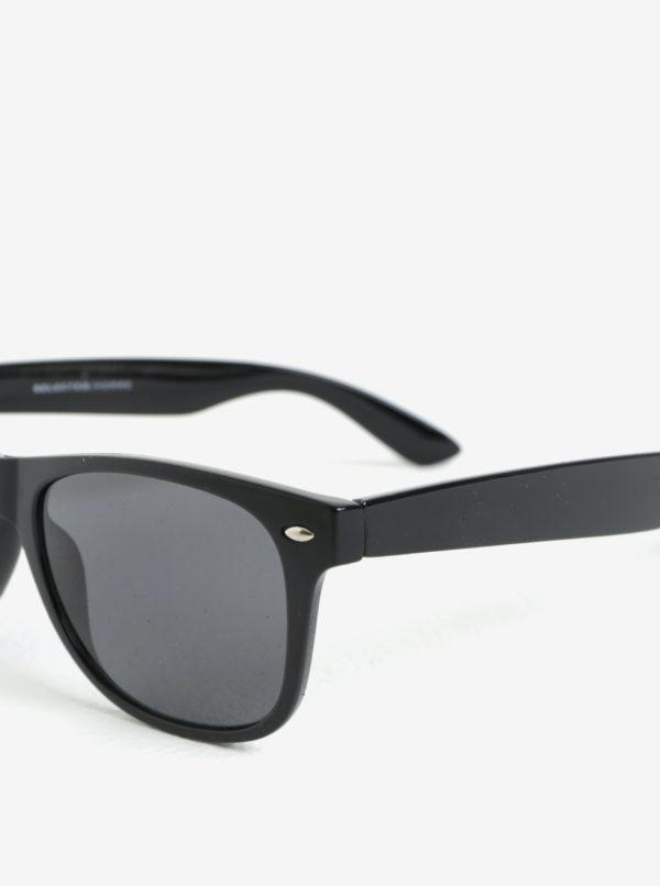 Čierne slnečné okuliare Selected Homme Sunday  38a86ea95ac