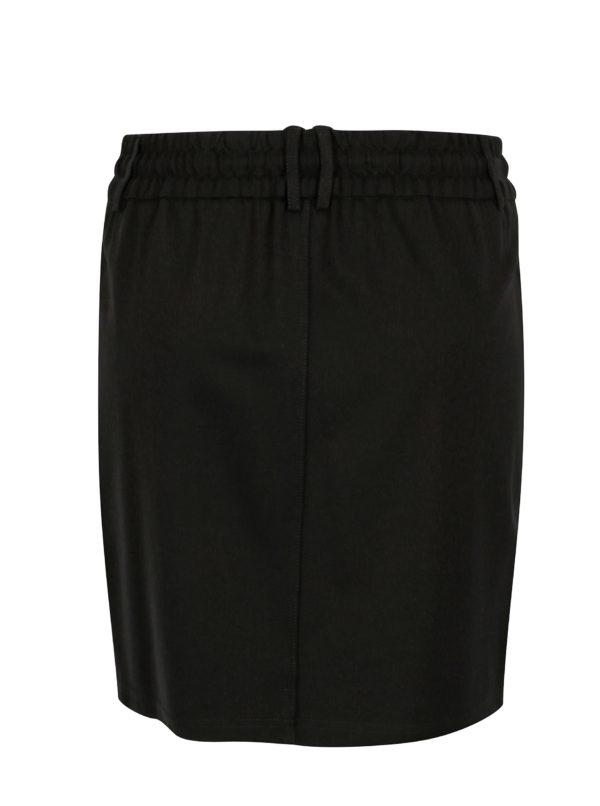 Čierna sukňa ONLY Poptrash