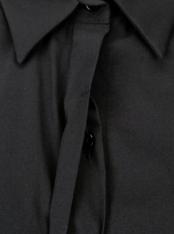 Čierna dámska košeľa Pietro Filipi