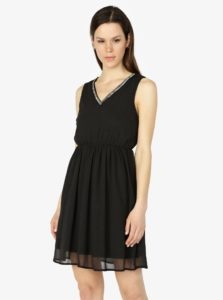 Čierne šaty VERO MODA Liandra 5bd1f243d08