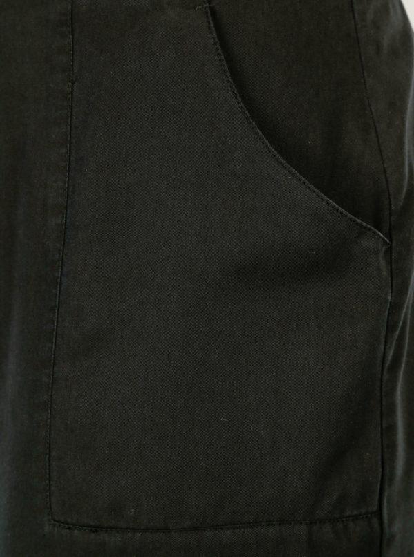 Čierna sukňa s gombíkmi Ulla Popken