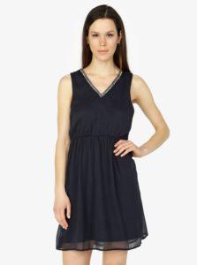 Tmavomodré šaty VERO MODA Liandra e6c38bb1d14