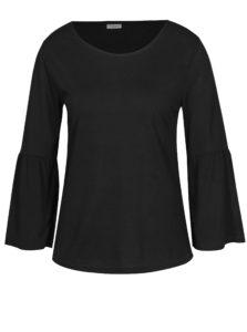Čierne tričko so zvonovými rukávmi Jacqueline de Yong Minni