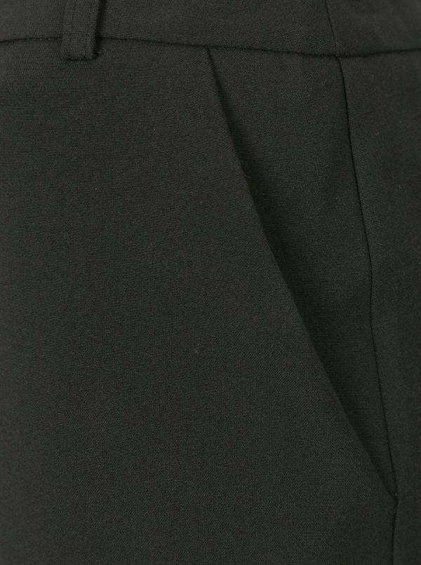 Čierna minisukňa s vreckami Miss Selfridge