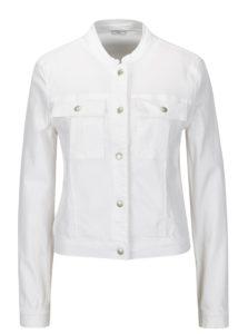 Biela rifľová bunda Jacqueline de Yong Five