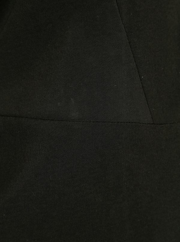 Čierne krátke sako so zvonovými rukávmi VILA Mula