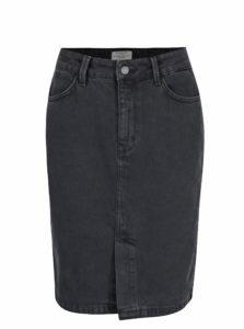 Tmavosivá rifľová sukňa Selected Femme Haley