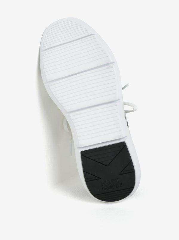 Čierno-biele tenisky KARL LAGERFELD Vitesse