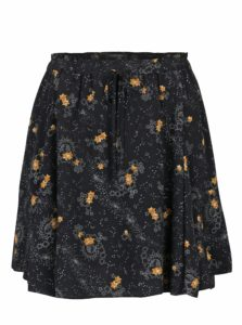 Čierna sukňa s motívom hviezd Scotch & Soda